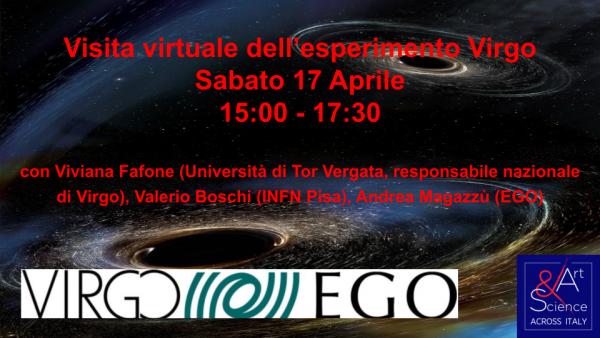 Evento Nazionale: Visita esperimento Virgo – Sabato 17 aprile ore 15:00