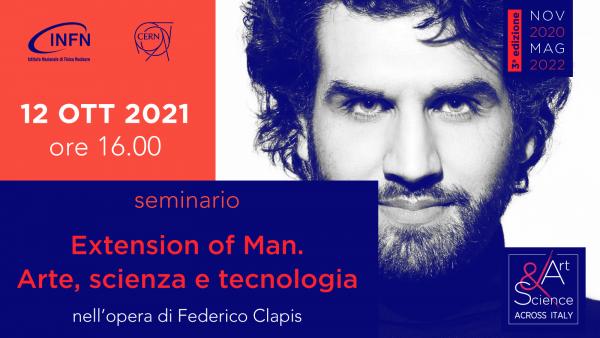 12 ottobre ore 16:00 – Federico Clapis incontra gli studenti di A&S